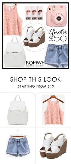 """""""Romwe 1"""" by amra-f ❤ liked on Polyvore featuring Mansur Gavriel and Fujifilm"""