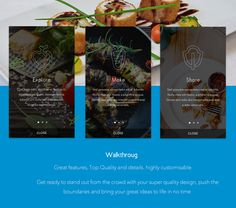 Mobile Recipe Application, Mobile Restaurant Apps on Behance