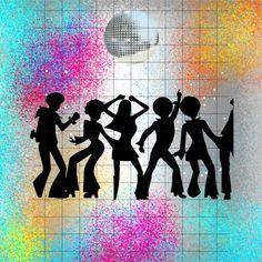 Dance Disco Surprise Birthday Party Invitation | Zazzle.com