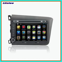 Sale Liislee Android Car Bluetooth Stereo GPS Navigation Car player For Honda CIVIC Multimedia Audio Video Radio Multi-Touch Screen 2020 Cheap Car Audio, Car Bluetooth, Android Auto, Multi Touch, Gps Navigation, Honda Civic, Multimedia, Phone, Telephone