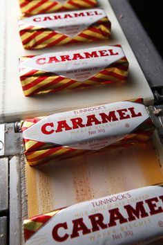 These are Scottish, but all kids with Guyanese parents grew up with these caramel-filled wafers covered in chocolate!