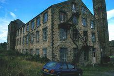 Burnside Mill 1990s 02 (Addingham, West Yorkshire) West Yorkshire, 1990s, Pine, Barn, Amazon, Pine Tree, Converted Barn, Amazons, Riding Habit