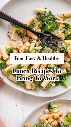 Quick Vegetarian Meals, Vegetarian Lunch, Quick Dinner Recipes, Healthy Meal Prep, Lunch Recipes, Cooking Recipes, Breakfast Sausage Recipes, Mediterranean Diet Recipes, Pasta Dishes