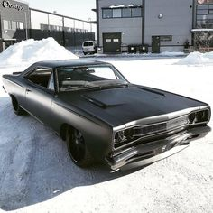 Hot Wheels - How about this murdered out Plymouth Satellite via 📷 Dodge Muscle Cars, Custom Muscle Cars, Custom Cars, Porsche, Audi, Triumph Motorcycles, Mopar, Ducati, Motocross