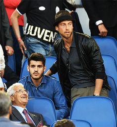 Alvaro Morata and Claudio Marchisio