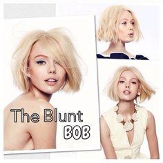 Blunt bob