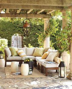 Backyard Inspiration | specialtydoors.com #backyard #hardware #specialty #custom