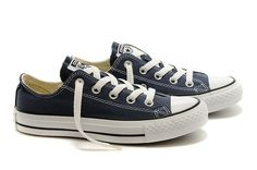 Converse Men Classic Evergreen blue low to help