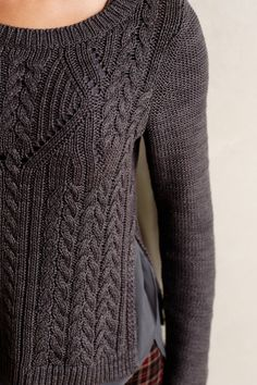 Cabled Ivory Jumper