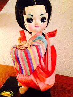 Don't you love this Korean doll from the fifties?