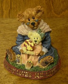 Boyds Bearstones 228331 Nana Quignapple W Taylor IF MOM Says NO Mint 1st ED | eBay
