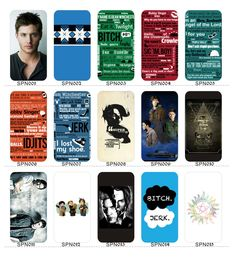 Supernatural Jensen Dean Sam I phone 4/4s/5/5s/5c case cover 34 styles