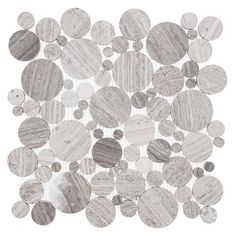 Mozaika kamienna Woodstone - Dunin - Grey dot