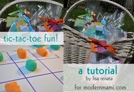 This fun, easy tic tac toe game is perfect Easter project with kids. Learn how to make it with supplies from #Walmart.