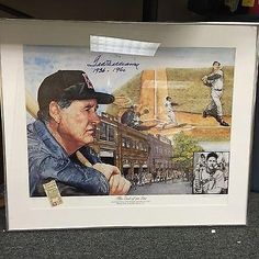 Rare Ted Williams Signed Autograph Lewis Watkins Artist Proof Lithograph - PSA/DNA Certified - Autographed MLB Art -- Be sure to check out this awesome product.