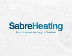 Sabre Heating Logo Design
