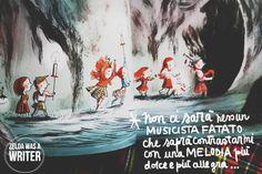 Il Canto delle Scogliere | Zelda was a writer