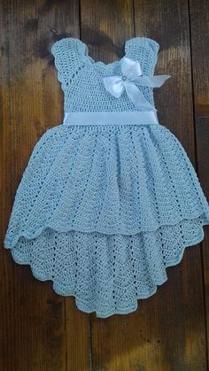 Crochet dresses for 6 months christening baptism gowns blue dress for baby knit dress first communio Image gallery – Page 471963235947854357 – Artofit Crochet Tutu Dress for girls for special occasion. Crochet Tutu Dress, Crochet Baby Dress Pattern, Knit Baby Dress, Baby Knitting Patterns, Baby Patterns, Knit Crochet, Crochet Baby Dresses, Smock Dress, Dress Patterns