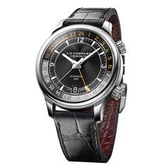 Chopard GMT One, the first L.U.C model to feature a dual-time function smoothly integrated into the movement