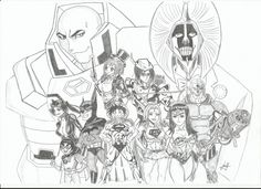 DC-Anime drawing