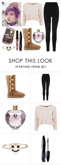 """Molly Erikson- School"" by dancer-girl589 ❤ liked on Polyvore featuring UGG Australia, L.K.Bennett, Vera Wang, Swarovski and Lancôme"