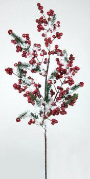 6 Berry & Pine Branches by Gordon Companies, Inc. $90.00. Picture may wrongfully represent. Please read title and description thoroughly.. Shipping Weight: 3.00 lbs. Please refer to SKU# ATR25792430 when you inquire.. This product may be prohibited inbound shipment to your destination.. Brand Name: Gordon Companies, Inc Mfg#: 30788077. 6 Berry & Pine Branches/27''L/made of plastic/you get 6 of the branch shown
