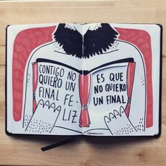 Cuento feliz, final triste | 2015 Presents For Boyfriend, Boyfriend Gifts, Wall Quotes, Love Quotes, Romantic Humor, Frases Love, Love Phrases, Sad Love, Spanish Quotes