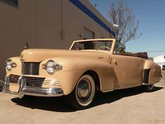 The ultra-rare 1942 model Lincoln that was discontinued due to the war effort.