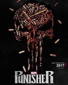 Punisher... #Marvel. Agents of SHIELD - Comics - Pop - Discovery - History - MarvelComics - Spiderman - xmen - Daredevil - IronMan - Hulk - Thor - Jessica Jones - Marvel Studios - Netflix - UCM - The Defenders - Disney - Agent Carter - Legion- deadpool- Doctor Strange - Marvel.