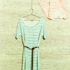 shirt dress malha linho