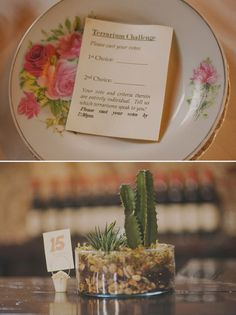 Brides: Unique Centerpiece Idea: Wedding Terrariums