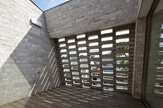 Shirasu house with volcanic soil brickwork by Aray Architecture