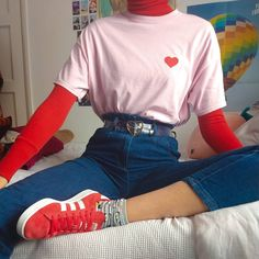 oufits Which outfit is your fave retropiece for more cr: mxphma - other accounts:grungepiece , arthoeaest Retro Outfits, Grunge Outfits, Vintage Outfits, Girl Outfits, Casual Outfits, 90s Fashion, Korean Fashion, Fashion Outfits, Petite Fashion