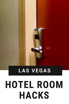 Las Vegas is a unique destination, and hotels on the Las Vegas Strip and Downtown come equipped with a unique set of amenities and challenges. Check out some of our favorite Las Vegas hotel hacks as you plan your trip to ensure you dont leave anything behind! Vegas Hotel Rooms, Travel Tips, Travel Destinations, Hotel Hacks, Las Vegas Resorts, Las Vegas Strip, Plan Your Trip, Nevada, Door Handles