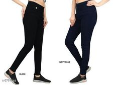 Checkout this latest Jeggings Product Name: *Elegant Fashionista Women Jeggings* Sizes:  28 (Waist Size: 28 in, Length Size: 38 in, Hip Size: 32 in)  30 (Waist Size: 30 in, Length Size: 38 in, Hip Size: 34 in)  32 (Waist Size: 32 in, Length Size: 38 in, Hip Size: 36 in)  34 (Waist Size: 34 in, Length Size: 38 in, Hip Size: 38 in)  36 (Waist Size: 36 in, Length Size: 38 in, Hip Size: 40 in)  38 (Waist Size: 38 in, Length Size: 38 in, Hip Size: 42 in)  40 (Waist Size: 40 in, Length Size: 38 in, Hip Size: 44 in)  Country of Origin: India Easy Returns Available In Case Of Any Issue   Catalog Rating: ★4 (365)  Catalog Name: Elegant Fashionista Women Jeggings CatalogID_872087 C79-SC1033 Code: 718-5791569-7422