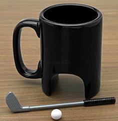Taza para golfistas
