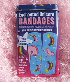 Made with Unicorn tears for extra healing power!
