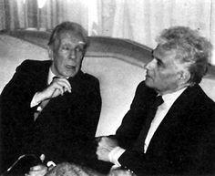 Jorge Luis Borges y Jacques Derrida