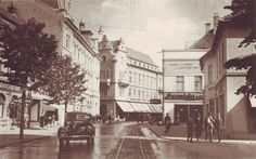 Sibiu - 1941 Romania, Street View, City, Places, Vintage, Accessories, Cities, Vintage Comics, Primitive