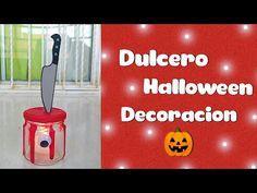 🎃 Dulcero O Decoración Muy Fácil Para Halloween - Creaciones El Ave Fénix 🌺 - YouTube Halloween, Youtube, Phoenix Bird, The Creation, Birds, Youtubers, Youtube Movies, Spooky Halloween