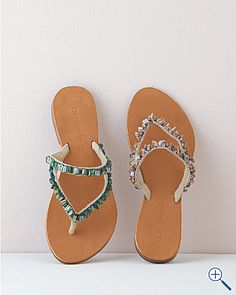 Sandals. Love the colors. $92.00