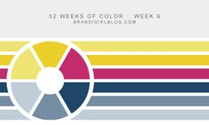 Week 9 of Brandi 52 WEEKS OF COLOR: @brandigirlblog #brandigirlblog #color_palette