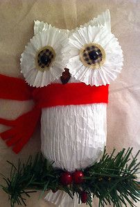 also cute christmas owl