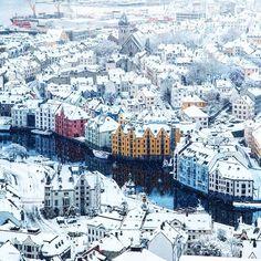 Your Bucket List Just Got Bigger. - Alesund, Norway | by Johan Kistrand