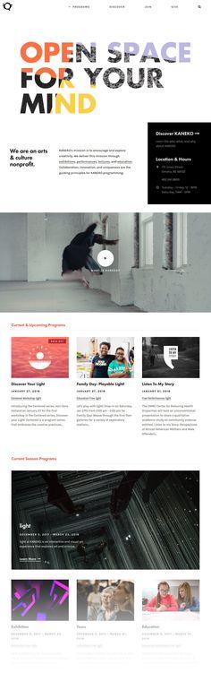 KANEKO (More web design inspiration at topdesigninspiration.com) #design #web #webdesign #sitedesign #responsive #ux #ui