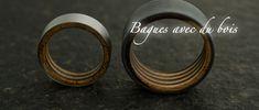 Création de bagues et alliances avec du bois - cbijoux- création d'alliances de mariage et de bijoux contemporains