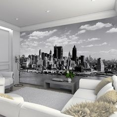 New York Skyline // 010   Wall Mural By Scott Haydn Part 74