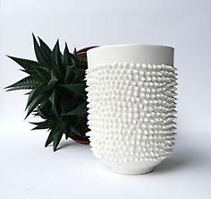 Coffee Mug with Spikes