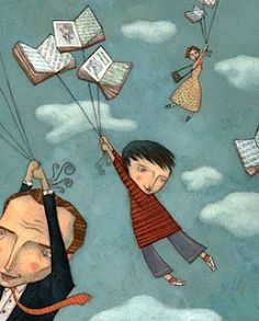Ofra Amit - fly over the books