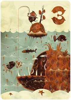 Tres | Alberto Cerriteño | Illustrator • Animator • Director